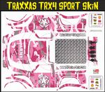 Pink Army Camo Themed Vinyl SKIN Kit & Stickers Fits R/C Traxxas TRX4 Sport Rock Crawler